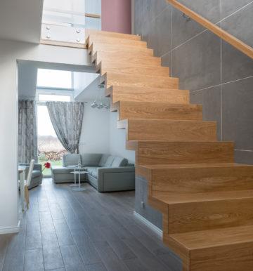 Projekty schodów drewnianych