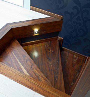 Schody drewniane nowoczesne