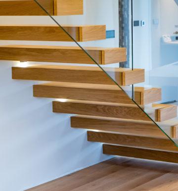 schody wspornikowe
