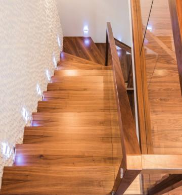 Drewniane - Szkło